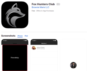Fox-Hunters-Club-App-iOS