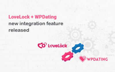 LoveLock + WPDating new integration feature released